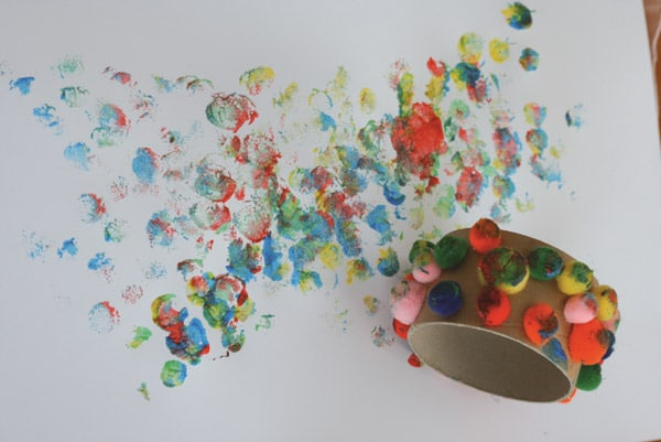 activité peinture enfant