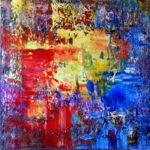 Art abstrait peinture
