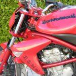 Bombe peinture moto