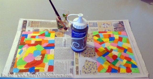 bricolage peinture