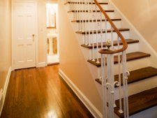 escalier peinture