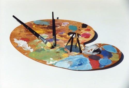 la palette peinture