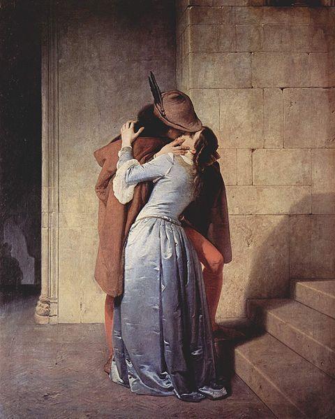 le baiser peinture