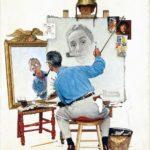 Norman rockwell peinture