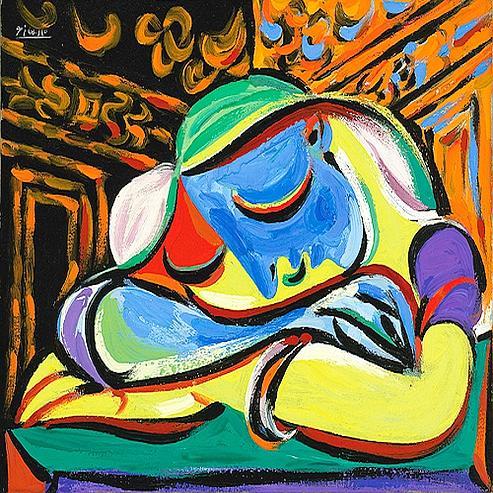 pablo picasso peinture