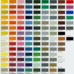 Palette couleur peinture