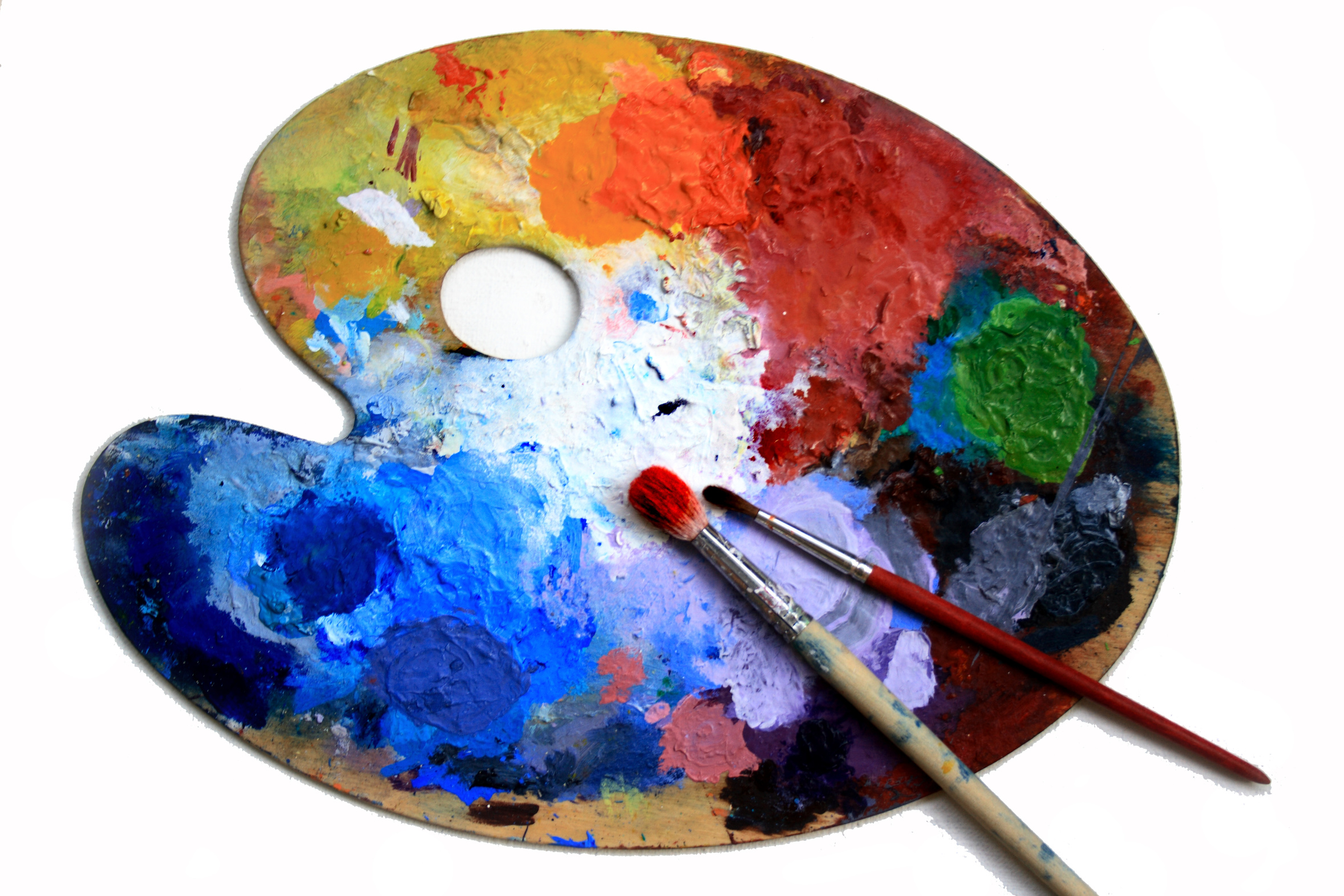 photo palette de peinture
