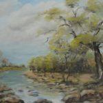Peinture à l huile sur toile