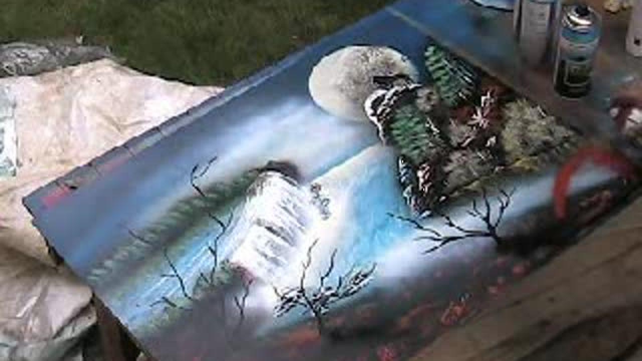 peinture a la bombe