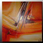 Peinture abstraite moderne