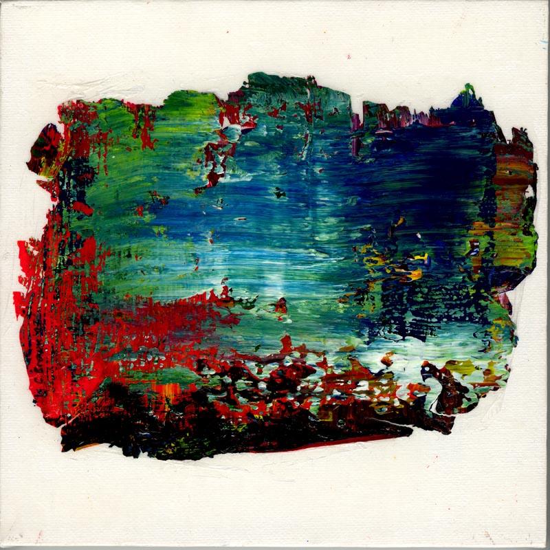 peinture abstraite technique