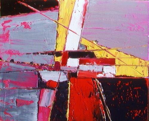 peinture acrylique abstraite