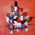 Peinture acrylique moderne