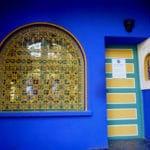 Peinture bleu majorelle