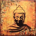 Peinture bouddha