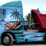 Peinture camion