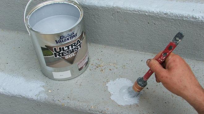 peinture ciment extérieur