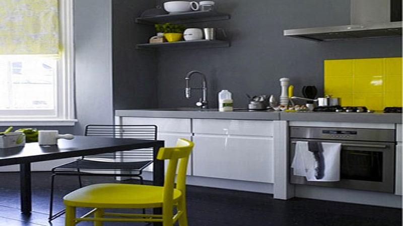 peinture cuisine gris