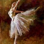 Peinture danseuse