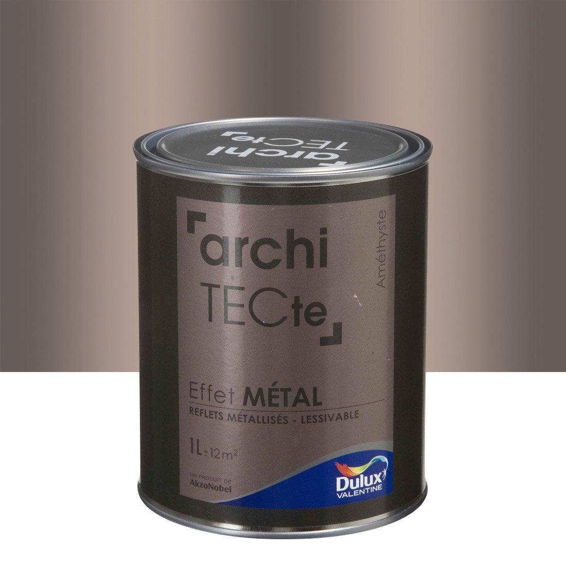 peinture effet metal