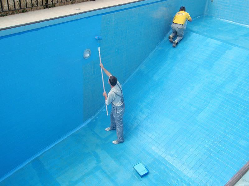 peinture epoxy piscine