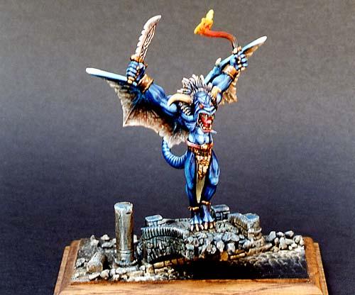 peinture figurine