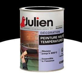peinture haute temperature noir mat
