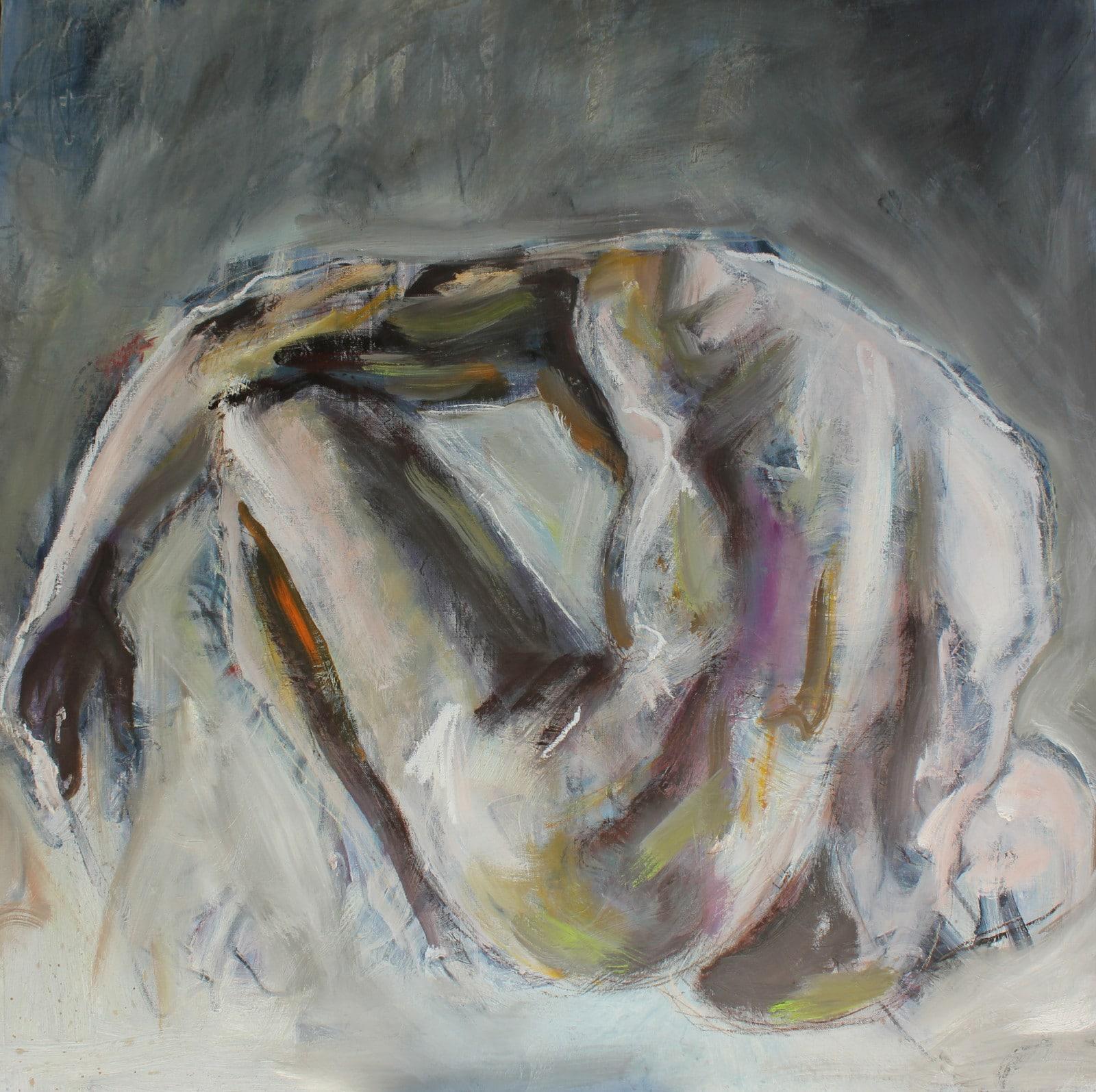peinture homme nu