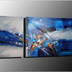 Peinture moderne abstraite
