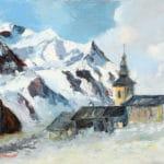 Peinture montagne