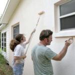 Peinture mur exterieur