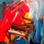 Peinture musique