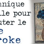 Peinture one stroke