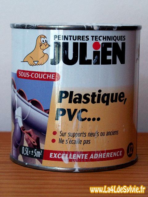 peinture plastique