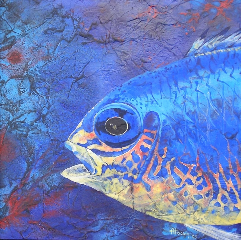 peinture poisson