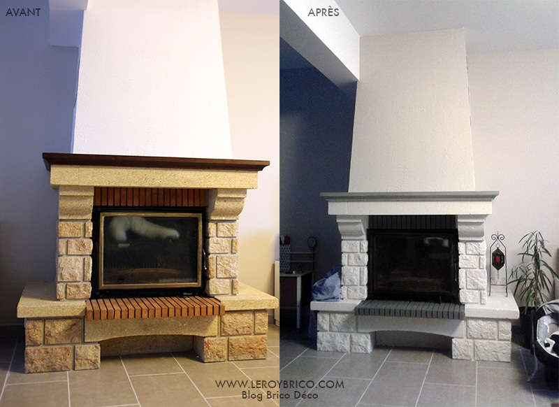 peinture pour cheminée