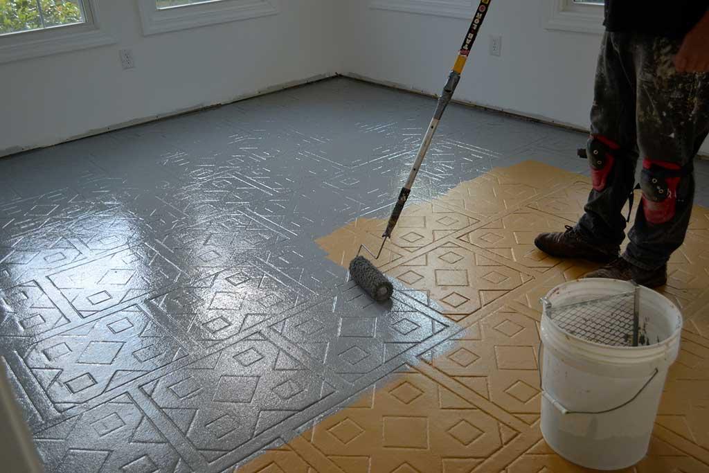 peinture pour sol carrelé
