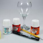 Peinture pour verre