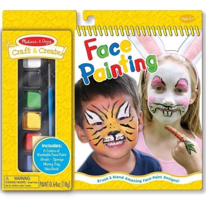 peinture pour visage