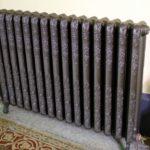 Peinture radiateur fonte