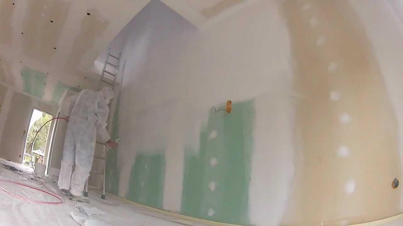 peinture sous couche placo