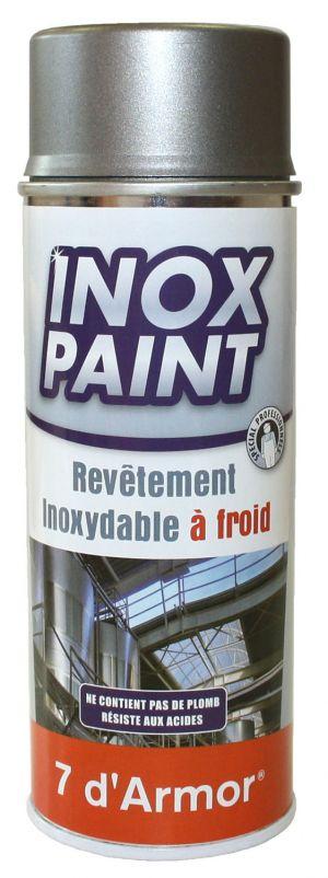 peinture sur inox