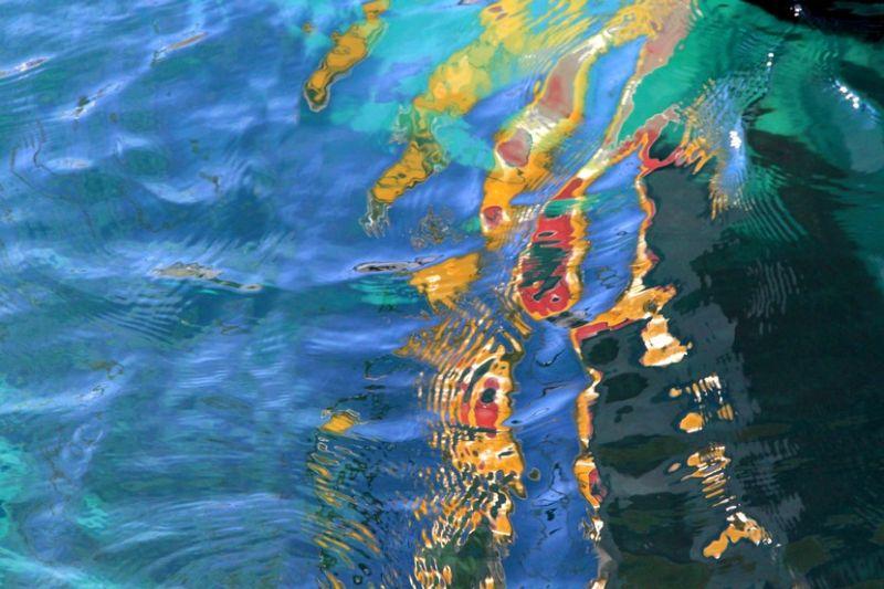 peinture sur l eau