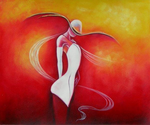 peinture sur toile moderne