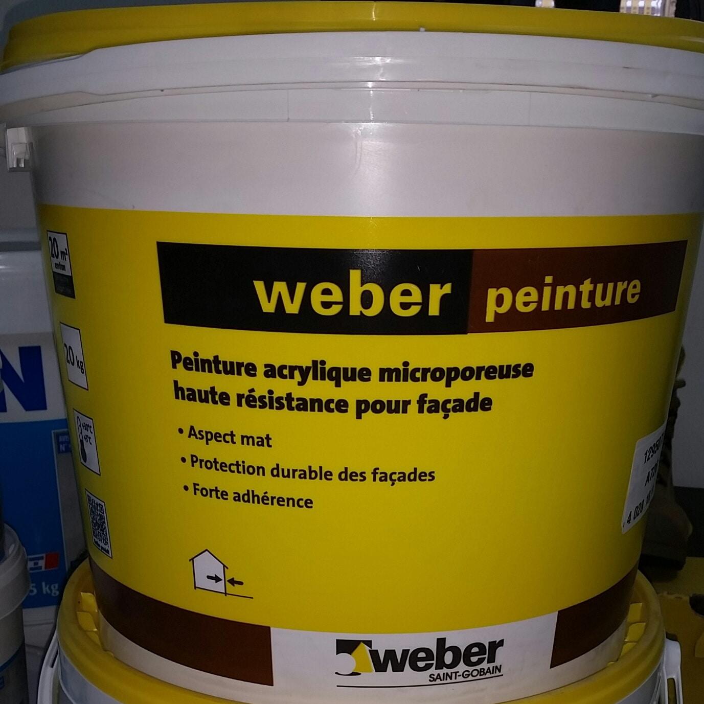 Peinture Weber