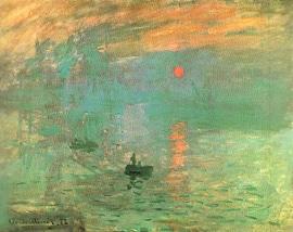 peintures impressionnistes