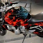 Prix peinture moto