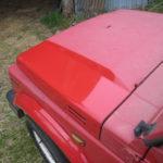 Renover peinture voiture