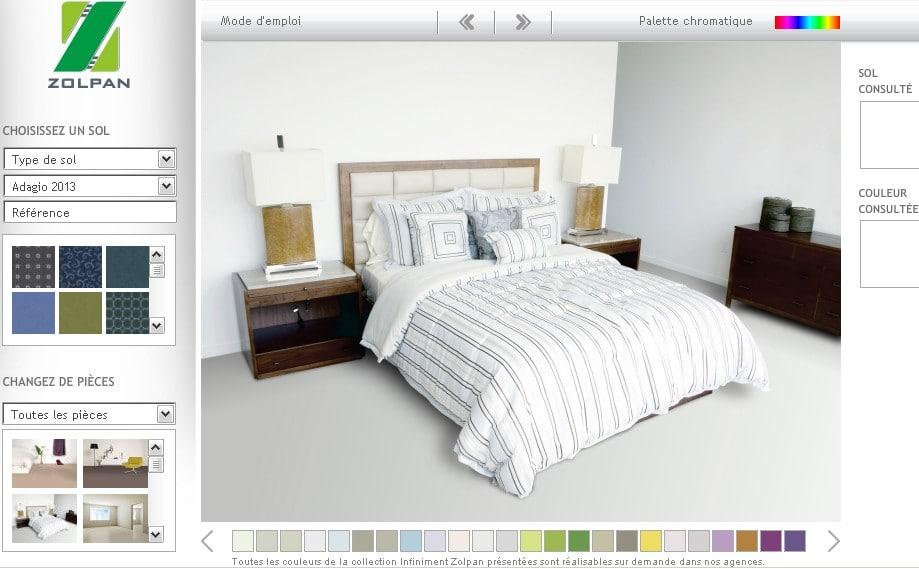 Simulateur peinture chambre meilleures images d 39 inspiration pour votre design de maison Simulateur peinture chambre