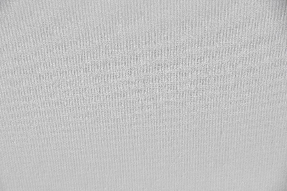 toile blanche peinture